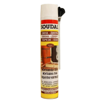 Монтажная пена Soudal PU FOAM Yellow Winter